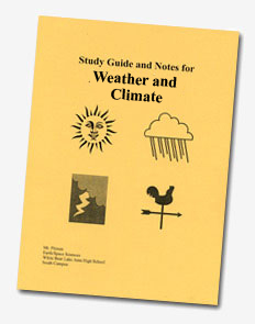 Study Guide and Notes for Meteorology